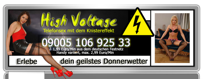 24 Telefonsex High Voltage - Girls unter Strom